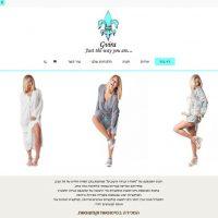 גבירה עיצובים - חנות אינטרנטית הלבשה